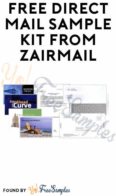 FREE Direct Mail Sample Kit from Zairmail (Companies Only)