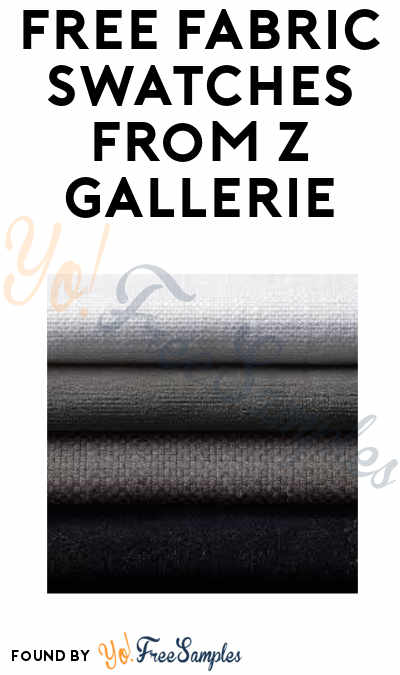 FREE Fabric Swatches from Z Gallerie