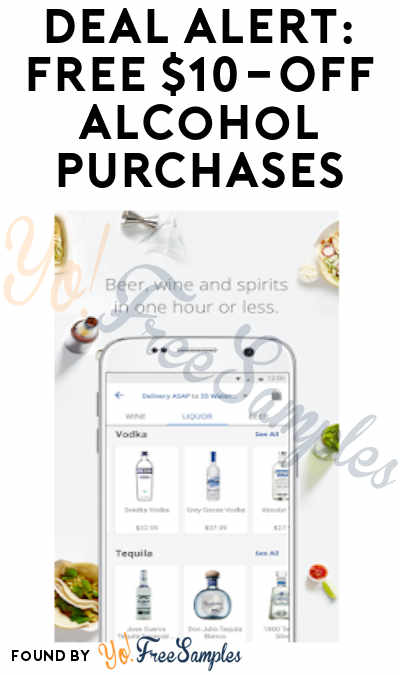 DEAL ALERT: $10 OFF Alcohol Purchases from Delivery.com (Ages 21+ Only)