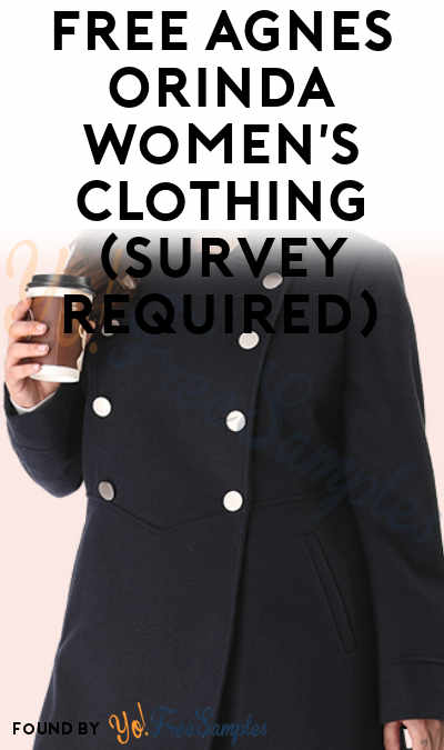 Back! FREE Agnes Orinda Women's Clothing (Survey Required) [Verified Received By Mail]