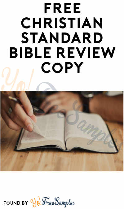 FREE Christian Standard Bible Review Copy (For Pastors and Ministry