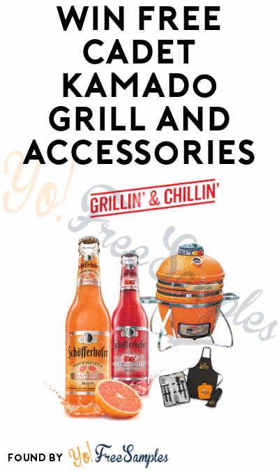 Win FREE Cadet Kamado Grill and Accessories in Schofferhofer Sweepstakes & Instant Wins (Ages 21 and Older)