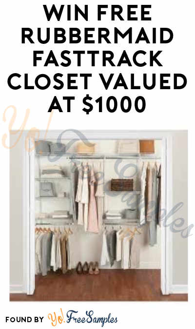 Enter Daily: Win FREE Rubbermaid FastTrack Closet & Lowe's Gift Cards in Rubbermaid FastTrack Closet Instant Wins