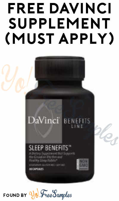 FREE DaVinci Supplement From ViewPoints (Must Apply)