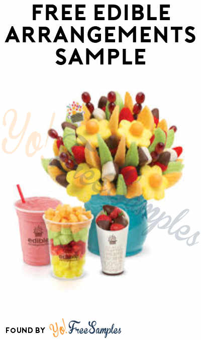 FREE Edible Arrangements Sample (In-Store Only)