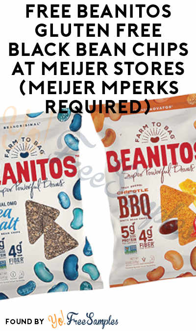 FREE Beanitos Gluten Free Black Bean Chips At Meijer Stores (Meijer mPerks Required)
