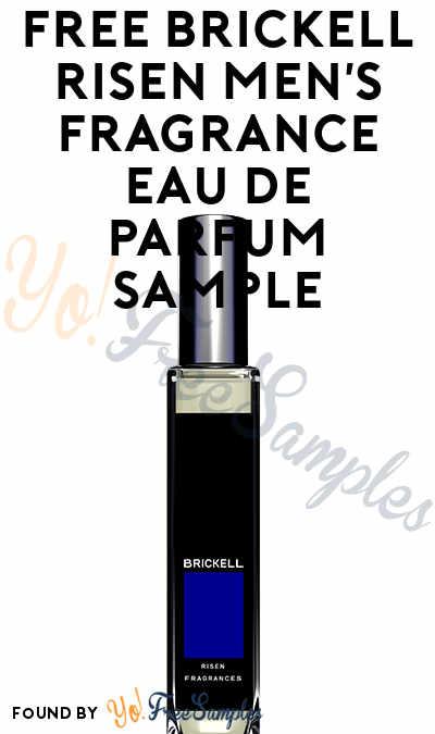 FREE Brickell Risen Men's Fragrance Eau De Parfum Sample