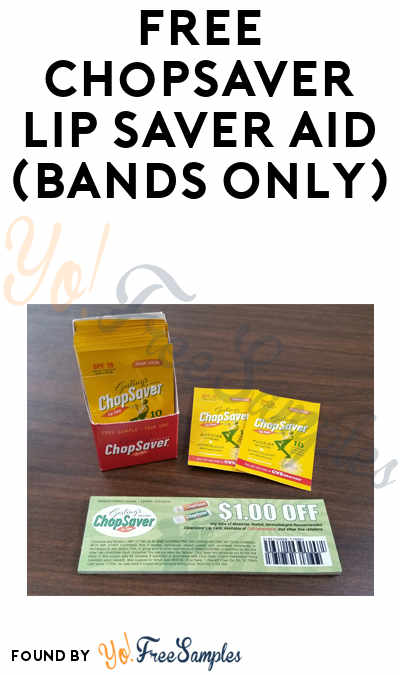 FREE ChopSaver Lip Saver Aid (Bands Only)