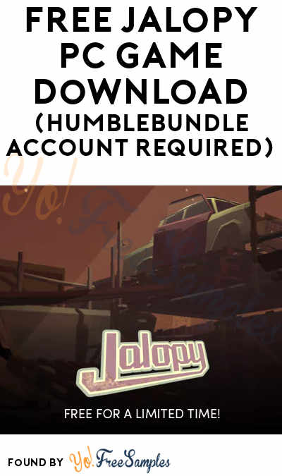 FREE Jalopy PC Game Download (HumbleBundle Account Required)