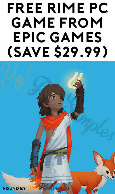 FREE RiME PC Game from Epic Games (Save $29.99)