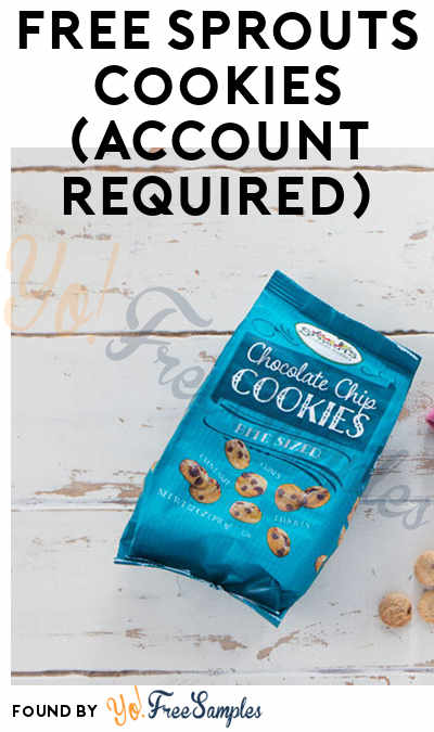 FREE Sprouts Cookies (Account Required)