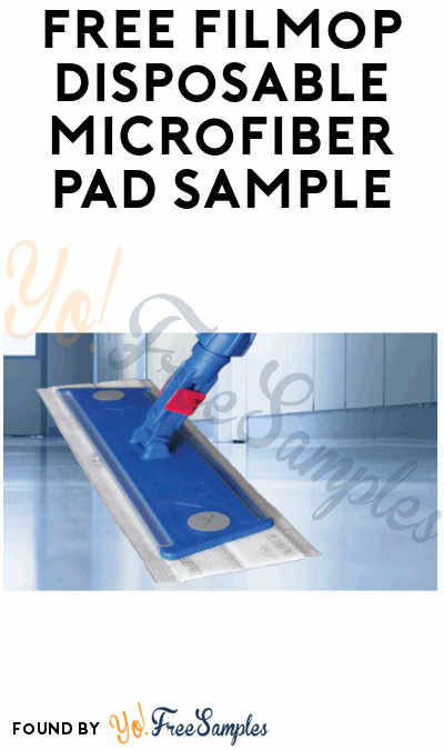 FREE Filmop Disposable Microfiber Pad Sample (Company Name Required)