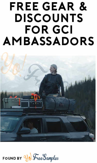 FREE Gear & Discounts for GCI Ambassadors (Must Apply)