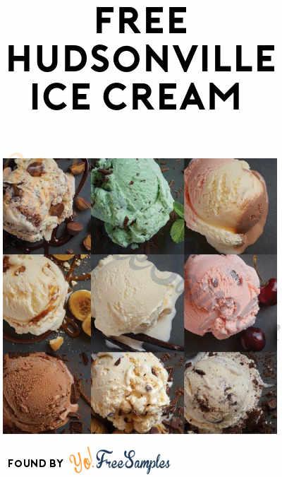 FREE Hudsonville Ice Cream BOGO Coupon