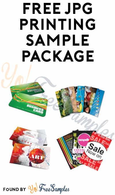 FREE JPG Printing Sample Package