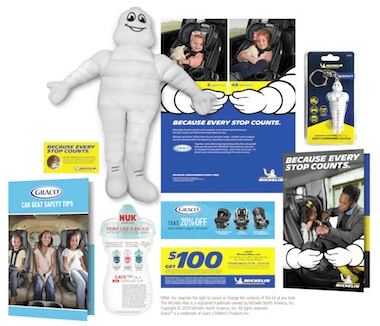 Back! FREE Michelin Man Plush Doll, Tire Pressure Gauge & More