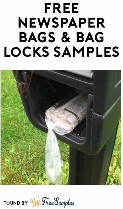 FREE Newspaper Bags & Bag Locks Samples
