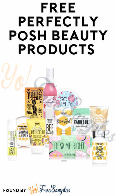 Possible FREE Perfectly Posh Beauty Products
