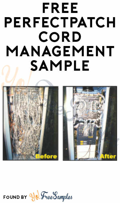 FREE PerfectPatch Cord Management Sample (Company Name Required)