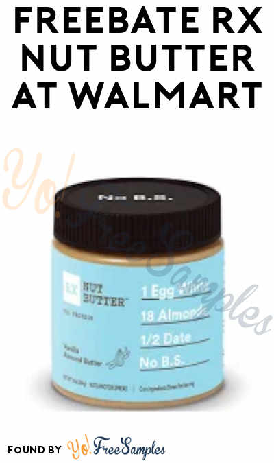 FREEBATE RX Nut Butter at Walmart