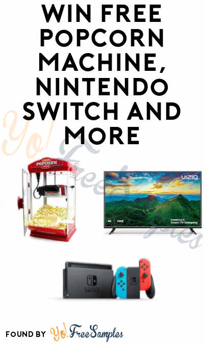 Win FREE Popcorn Machine, Nintendo Switch & More in Redbox Instant Wins and Sweeps