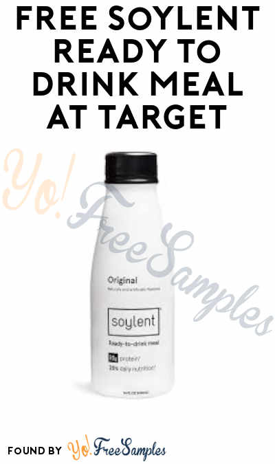 FREE Soylent Ready-To-Drink Meal at Target (Cartwheel + Ibotta Required)