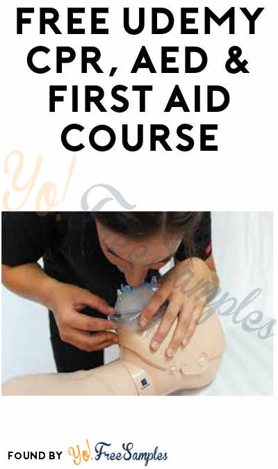 FREE CPR, AED & First Aid Udemy Course