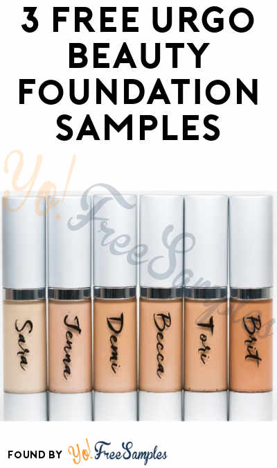 3 FREE Urgo Beauty Foundation Samples