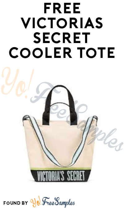 FREE Victoria's Secret Cooler Tote (With Purchase)