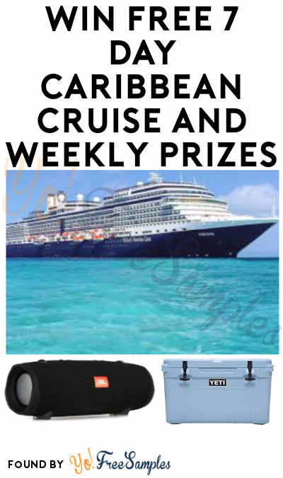 Enter Daily: Win FREE 7 Day Caribbean Cruise and Weekly Prizes in What The Flavor Sweepstakes