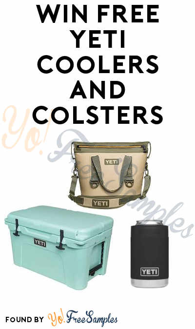 Enter Daily: Win FREE Yeti Coolers and Colsters in Coors Light Yeti Summer Instant Win Game (Ages 21 And Over)