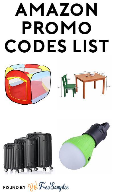 0a6b214e31e Amazon Promo Codes Daily List - May 3