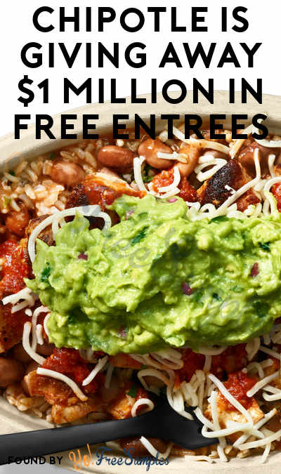 Tonight @ 9PM EST! Chipotle is Giving Away $1 Million in FREE Entrees During NBA Finals! (Twitter & Texting Required)