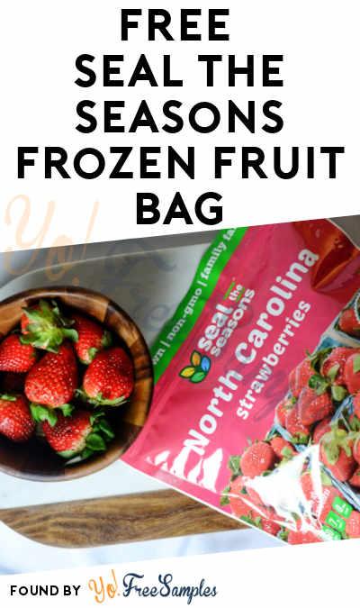 FREE Full-Size Seal The Seasons Frozen Fruit Bag