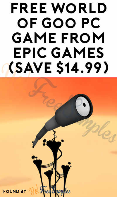 FREE World of Goo PC Game from Epic Games (Save $14.99)