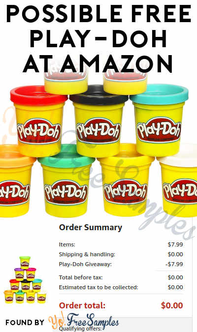Possible FREE 10-Pack Of Play-Doh At Amazon