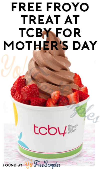 FREE Froyo Treat At TCBY For Mother's Day