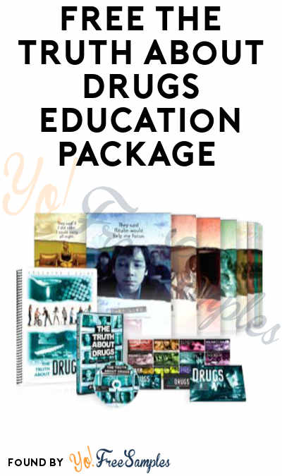 FREE The Truth About Drugs Education Package (Organizations/Institutions Only)