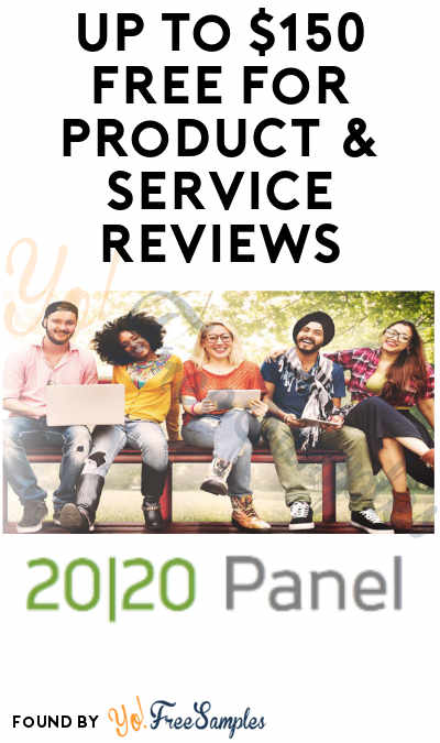 Earn Up To $150 FREE For Product & Service Reviews As 2020 Research Panellist (Must Apply)