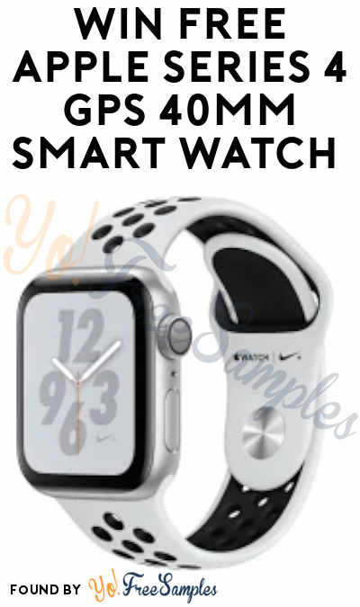 Enter Daily: Win FREE Apple Series 4 GPS 40mm Smart Watch in Snickers Instant Wins
