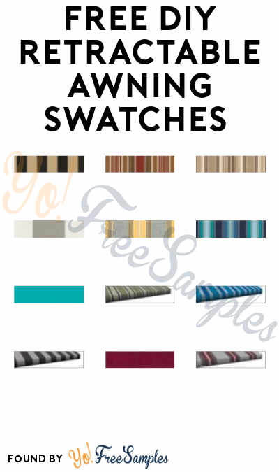 FREE DIY Retractable Awning Swatches