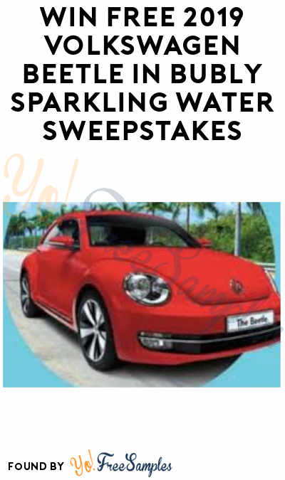 Enter Daily: Win FREE 2019 Volkswagen Beetle in Bubly Sparkling Water Sweepstakes (Select States)