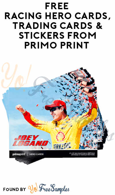 FREE Racing Hero Cards, Trading Cards & Stickers from Primo Print