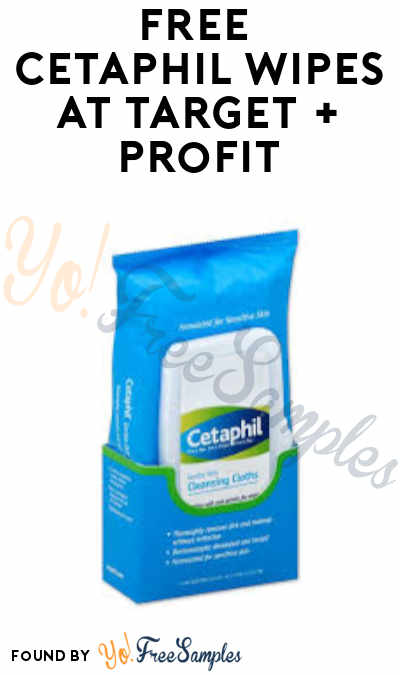 FREE Cetaphil Wipes at Target + Profit (App & Ibotta Required)