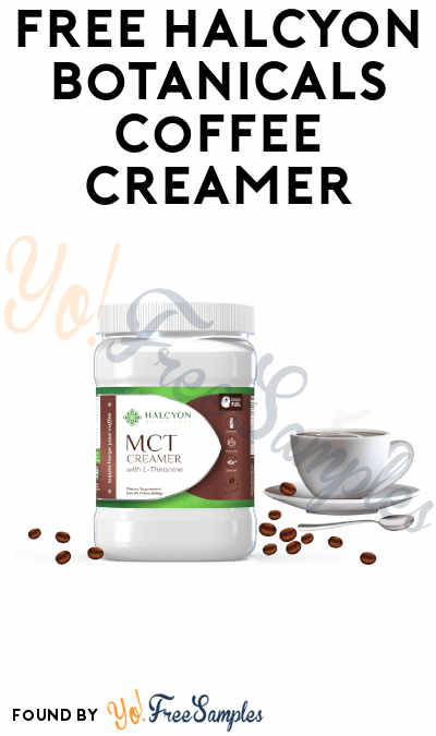 $8.95 Shipping: FREE Halcyon Botanicals Coffee Creamer (Refer Friends + Email Confirmation Required)