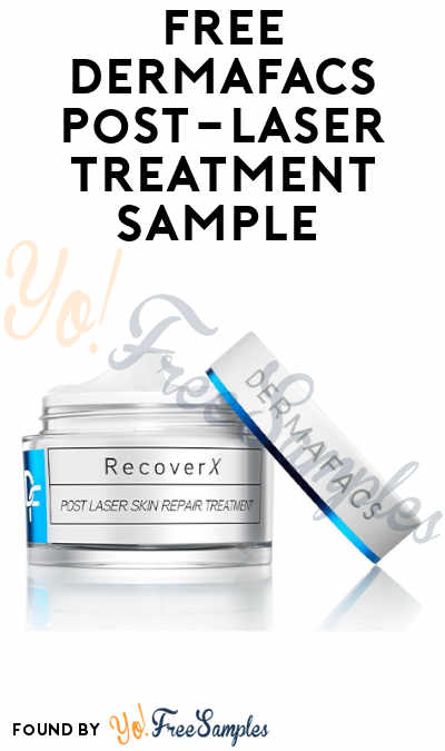 FREE Dermafacs RecoverX Post-Laser Treatment Sample (Skincare Professionals Only)