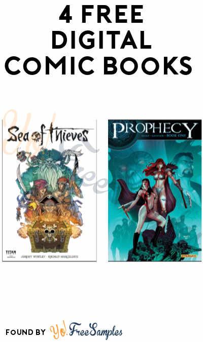 4 FREE Digital Comic Books