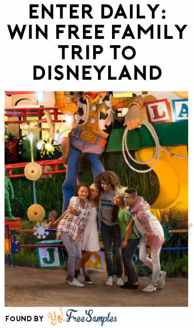 Enter Daily: Win FREE All-Inclusive Family Trip to Disneyland
