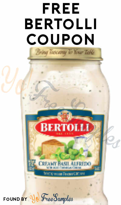 FREE Bertolli Coupon Product From Viewpoints (Must Apply)