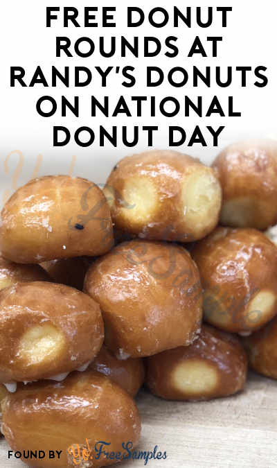 FREE Donut Rounds At Randy's Donuts On National Donut Day